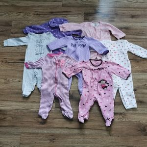 Other - Lot Of 7 Baby Sleepers 6 - 12 months.